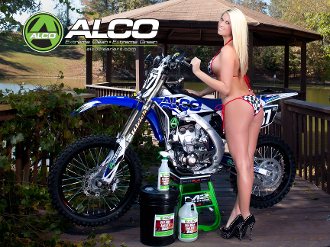Alco Dirt Bike Poster